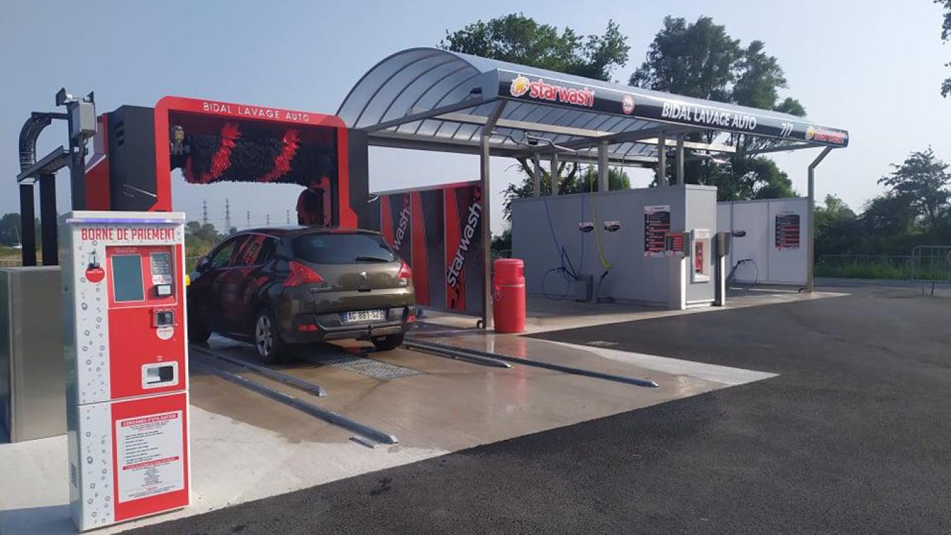 Bidal lance la station de lavage qui se soucie de l'environnement