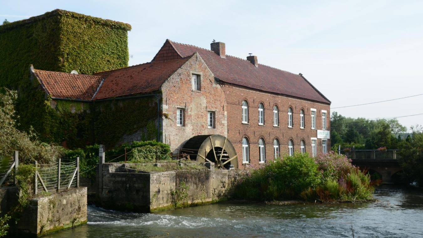La partie aujourd'hui recouverte de lierre a été construite en 1792.
