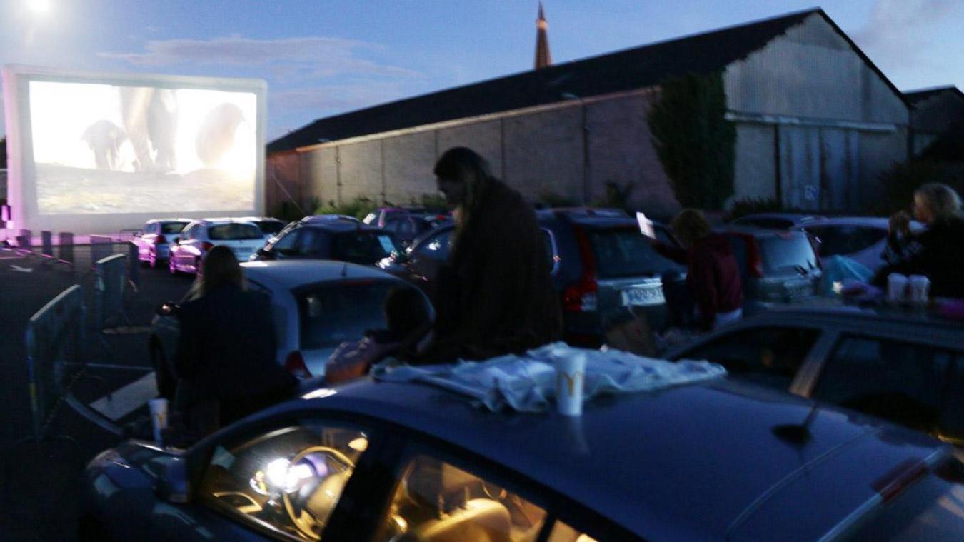 L'an dernier, la soirée ciné drive a été un véritable succès.