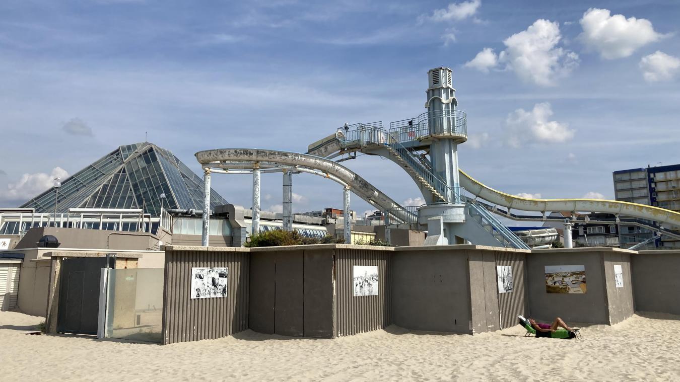 Depuis l'annonce de la possible destruction de l'Aqualud, le plongeoir est devenu un symbole à défendre à tout prix.