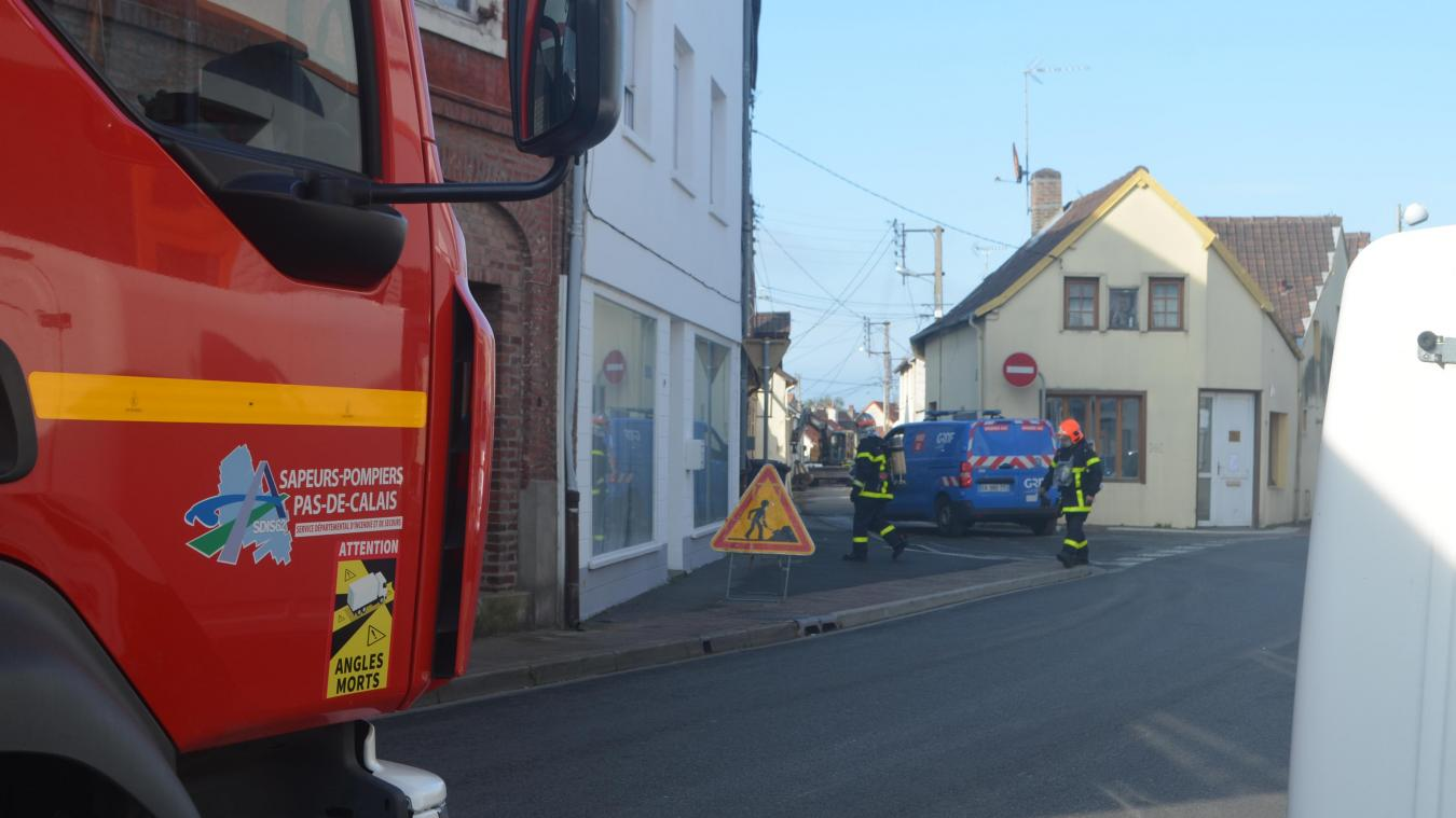 Les équipes de GRDF sont intervenus rue des Patrons pour une fuite de gaz.
