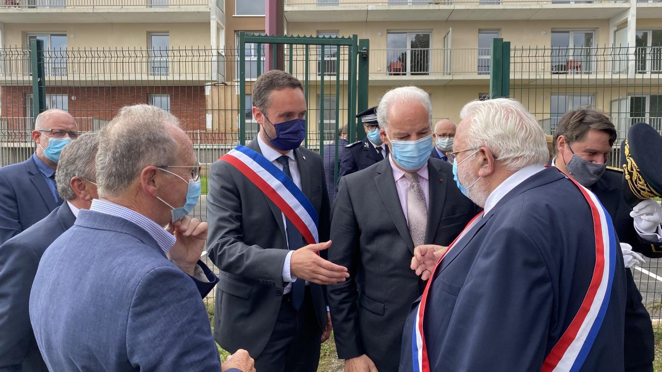 L'inauguration de la Foire s'est faite en présence d'Alain Griset, ministre délégué aux petites et moyennes entreprises.
