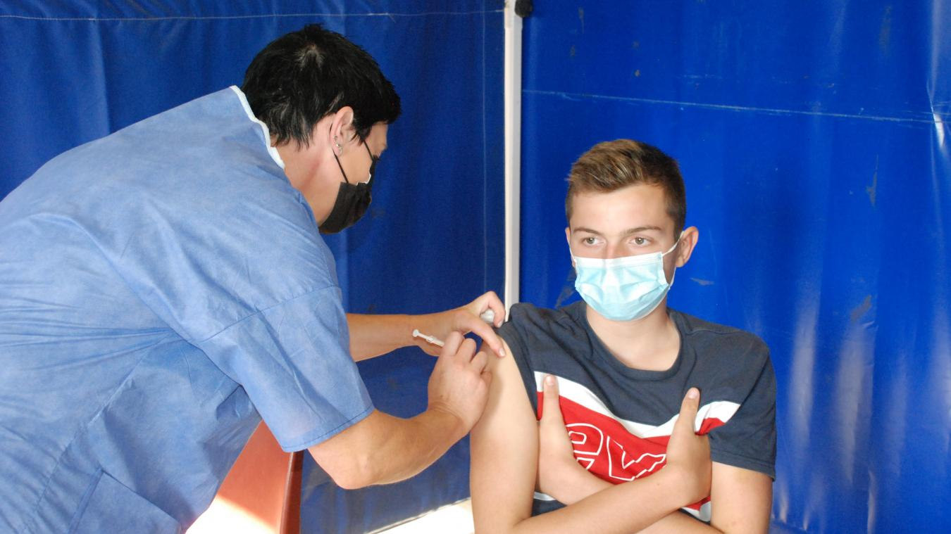 A 15 ans, Enzo fait partie des jeunes qui optent pour le vaccin.