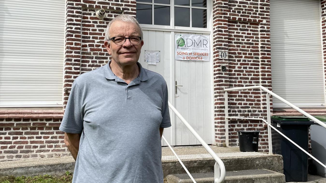 Dominique Grave est à la tête de la fédération départementale de l'ADMR depuis début juillet.