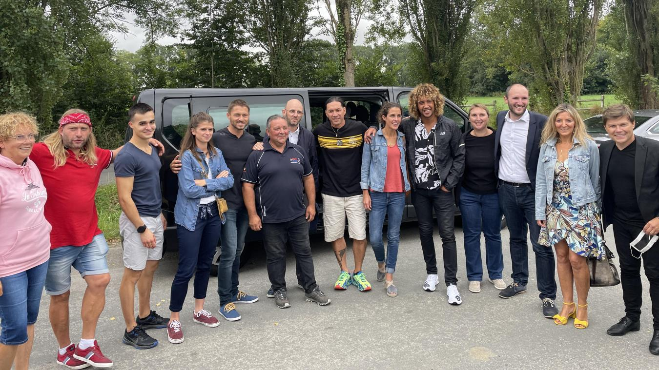 Les aventuriers on été accueillis par Bruno Brouillé, gérant de Archery aventures.