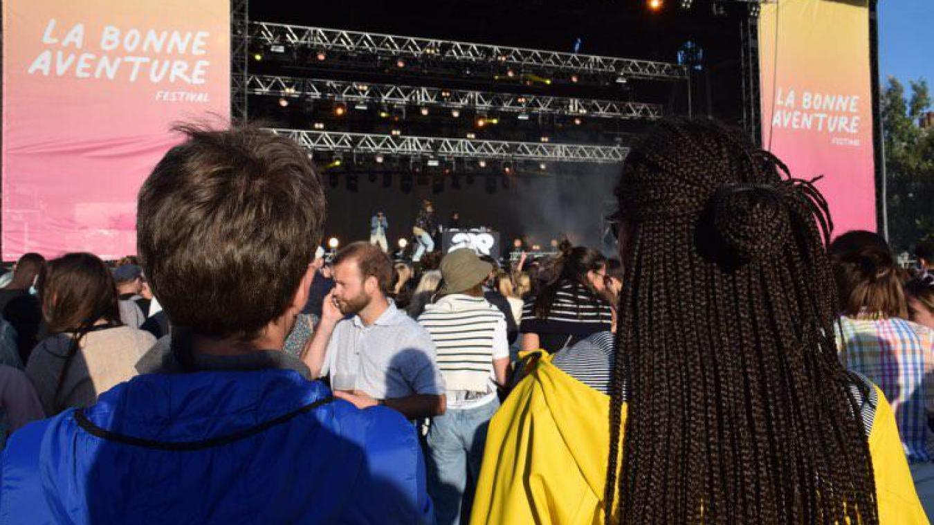 Les Dunkerquois se sont déplacés en nombre pour assister aux premiers concerts à Malo, samedi.