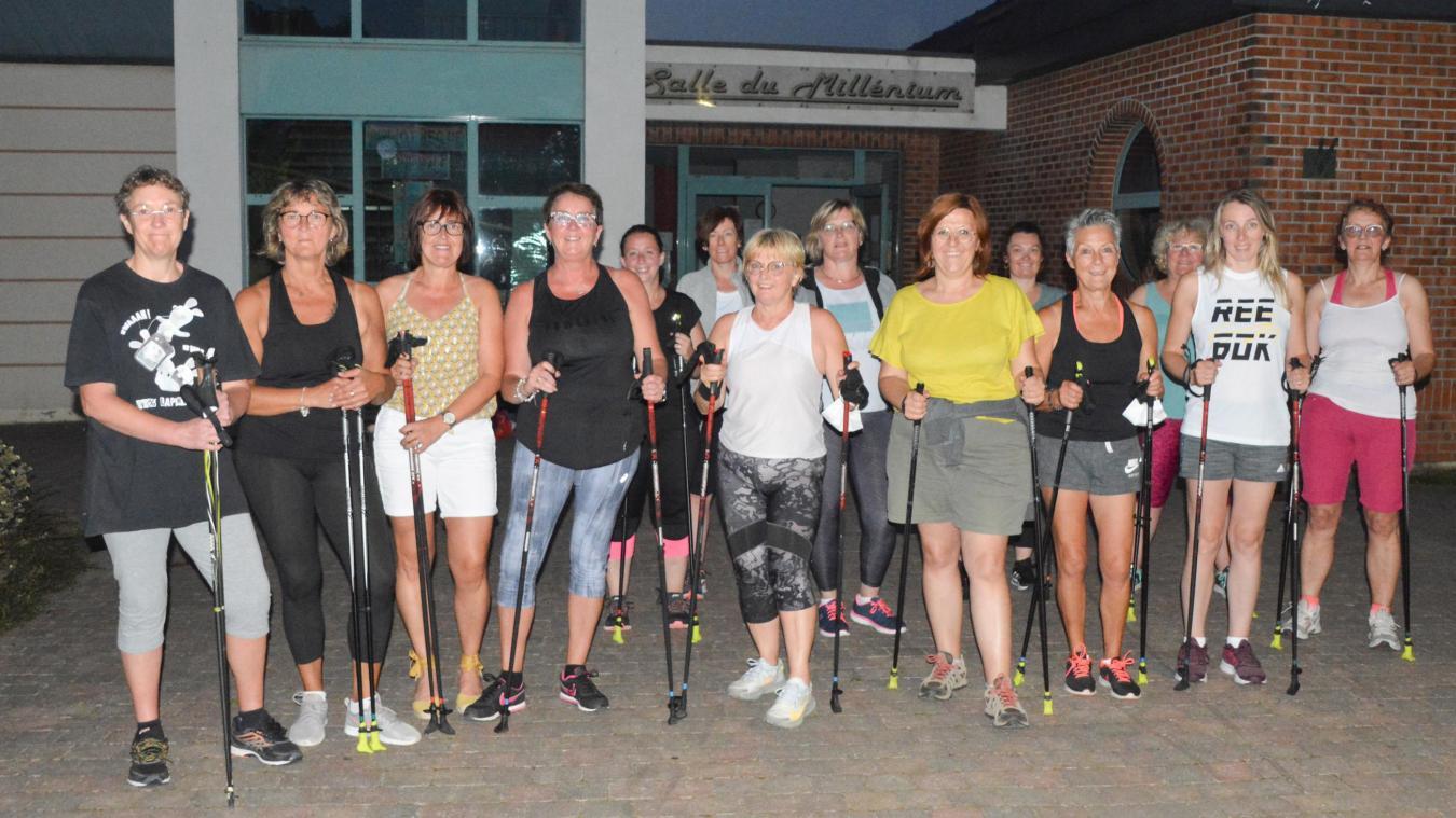 Mametz Gym Form propose désormais la marche nordique à ses adhérents