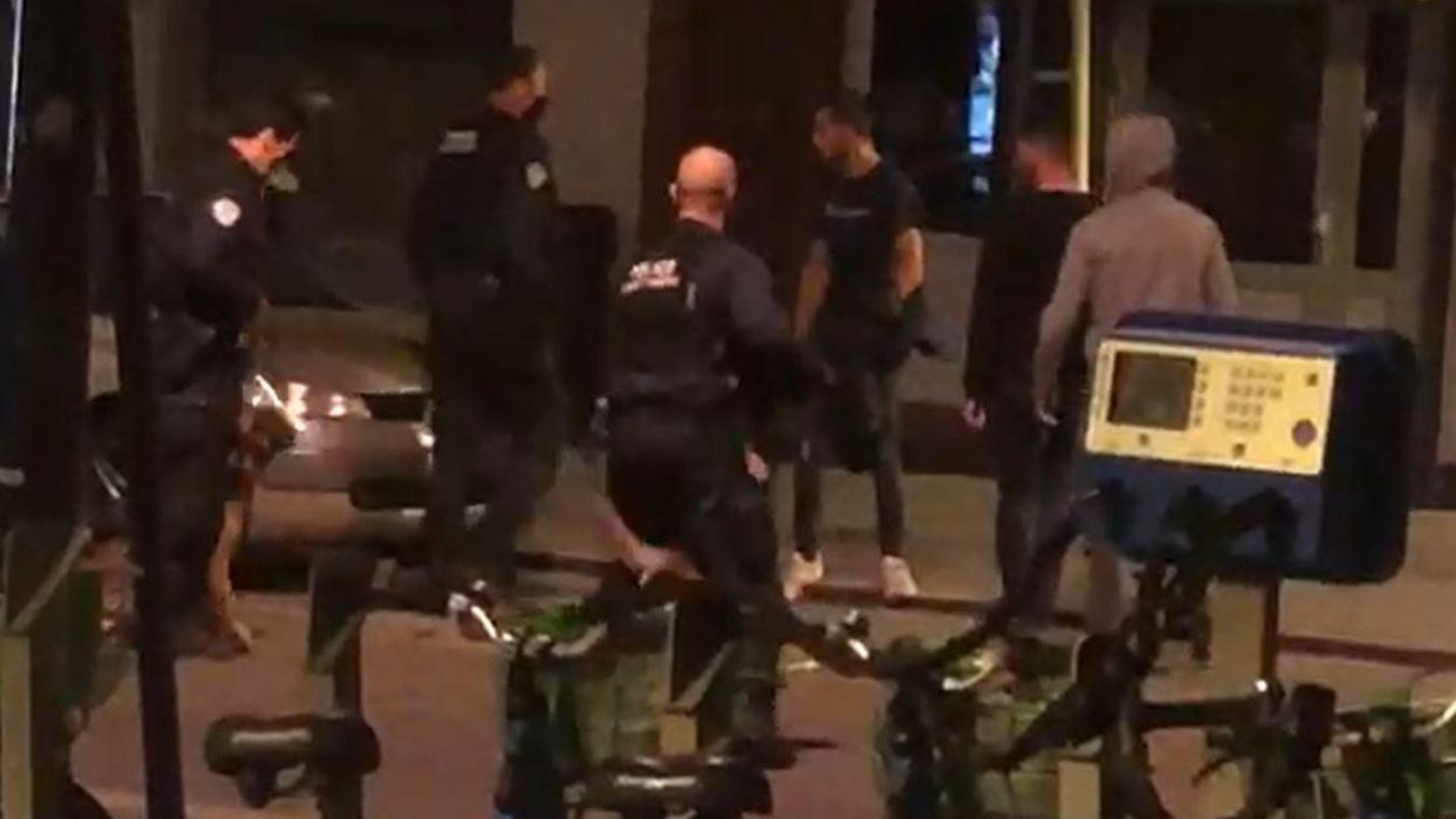 L'intervention de police a été musclée.