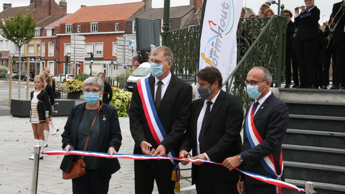 Wormhout : le kiosque restauré a été inauguré