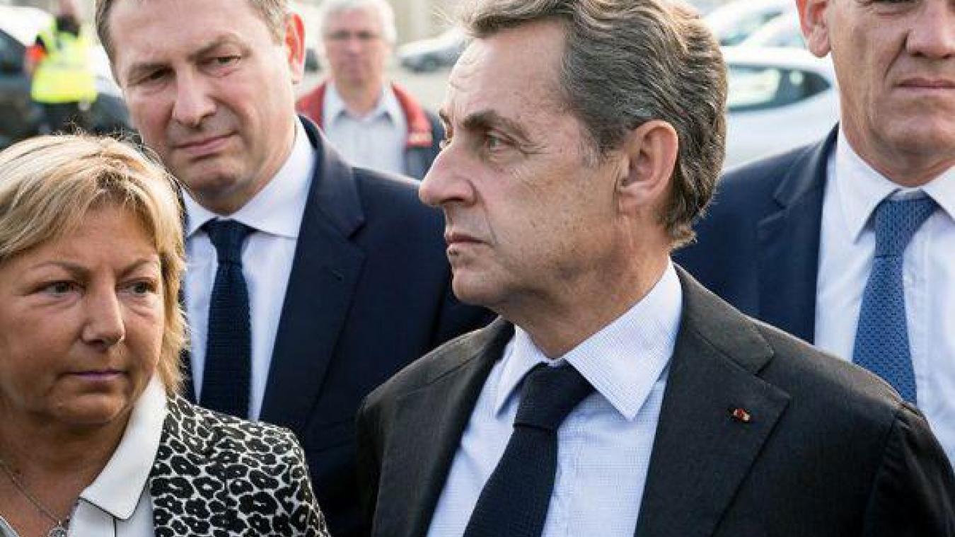 Natacha Bouchart est restée proche de l'ancien président de la République Nicolas Sarkozy.