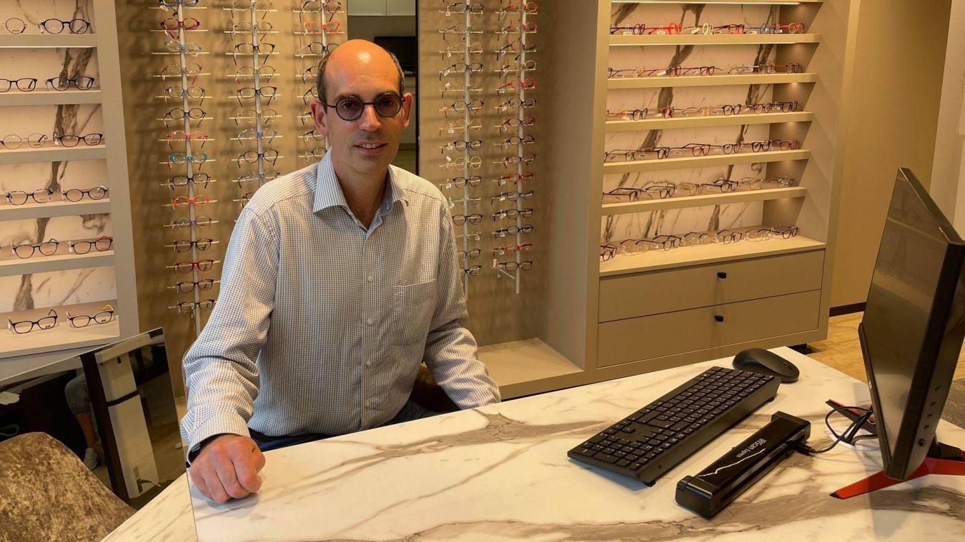 Après le déménagement, c'est un tout autre projet qui verra le jour: la fabrication de lunettes sur place.
