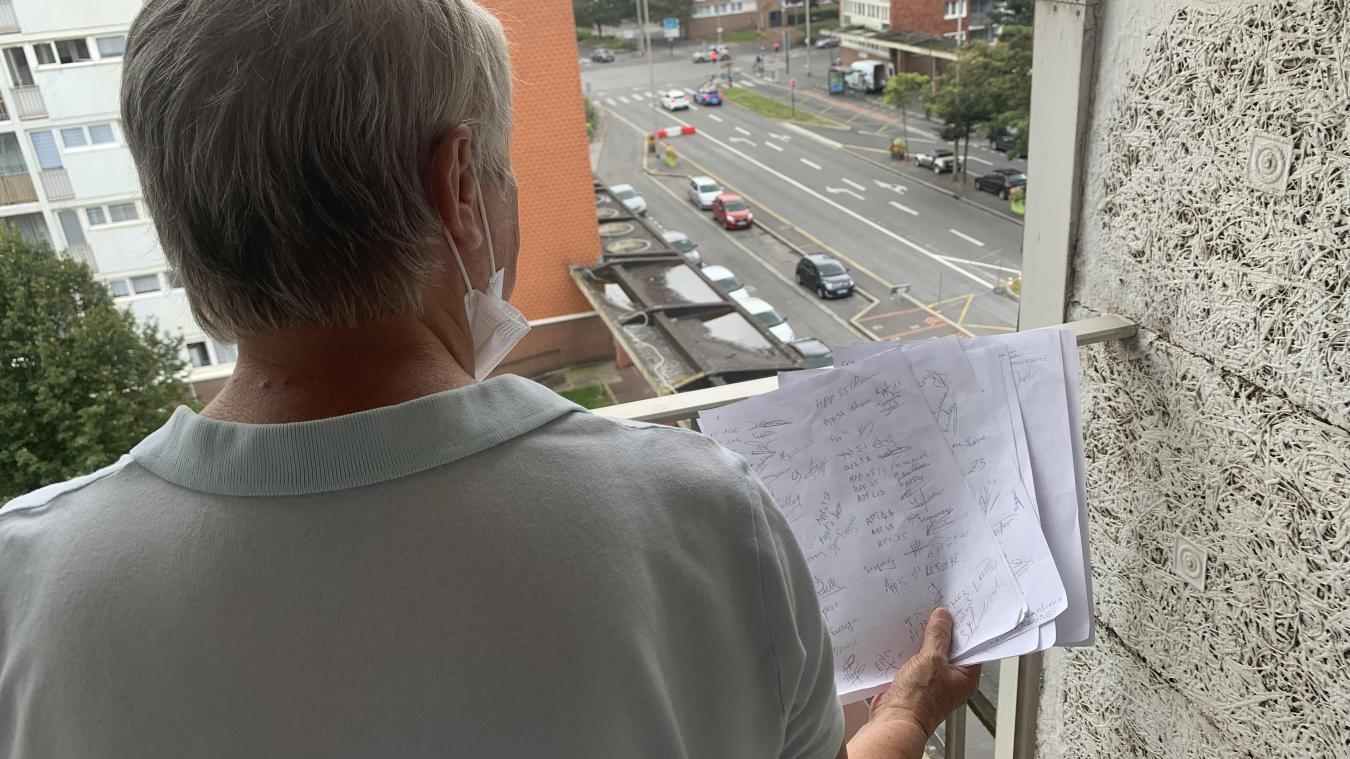 Micheline a lancé une pétition et compte la porter à la connaissance de la Communauté urbaine de Dunkerque.