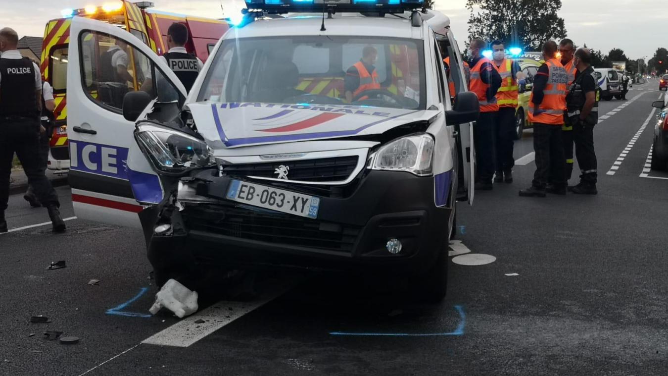L'accident a eu lieu rue de Phalsbourg.
