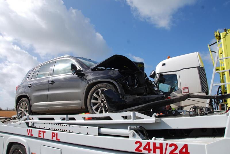 La vitesse n'est pas mise en cause dans cet accident.