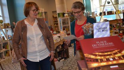 L'Airoise Laurence Blampain dans sa cinquième librairie