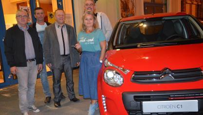 À Aire-sur-la-Lys, Corinne Dufour repart avec une auto (vidéo)