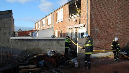 Hazebrouck: un incendie se déclare dans une maison de la rue de Calais