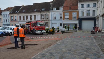 Aire-sur-la-Lys : quatre personnes évacuées dans le centre-ville suite à une fuite de gaz