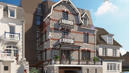 Le Touquet : une villa va être équipée d'un ascenseur à voitures