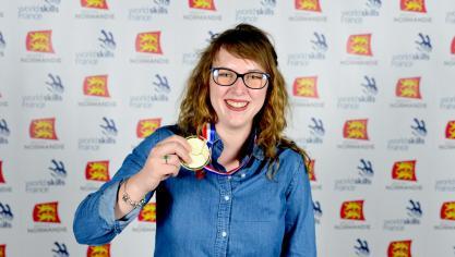 Mathilde Mortier, de Wittes, championne de France