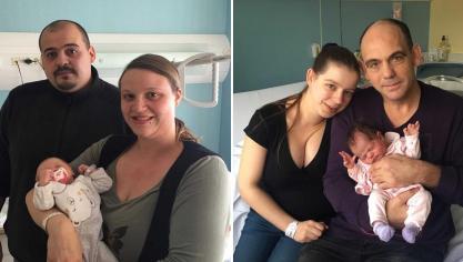 Rang-du-Fliers : le CHAM célèbre l'arrivée d'Éva, dernier bébé de 2018 et Alice, premier de 2019