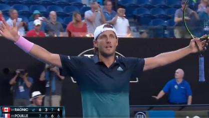 Loon-Plage : Lucas Pouille qualifié en demi-finale de l'Open d'Australie