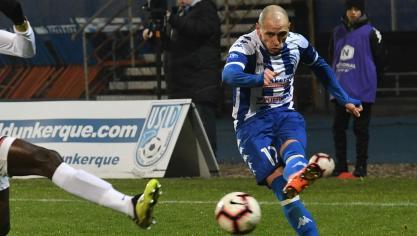 Football/USLD : Gamboa connaît la lutte pour le maintien