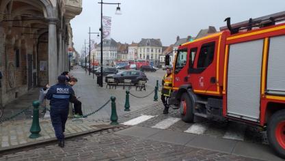 Aire-sur-la-Lys : la Grand-Place évacuée à la suite d'une fuite de gaz