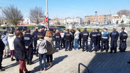 Suicides dans la police : les Dunkerquois se mobilisent
