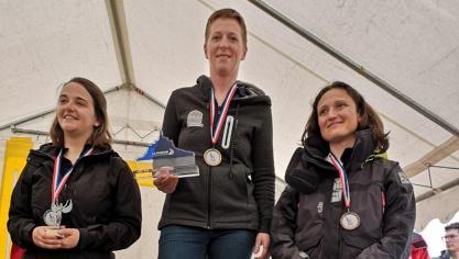 Boulogne : Nathalie Devigne championne de France !