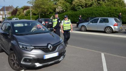 Le commissariat de Boulogne-sur-Mer procède à des contrôles routiers