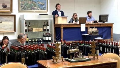 Saint-Martin-Boulogne : 250 000 euros de vins adjugés aux enchères !