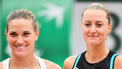 Roland-Garros : Kristina Mladenovic, n°1 mondiale en double dames