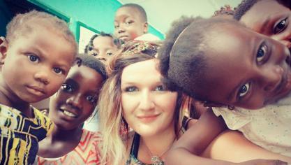 La Rinxentoise Mathilde Bourgain en mission humanitaire au Togo
