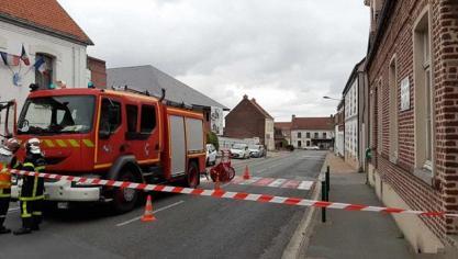 Burbure: la rue coupée après une fuite de gaz à la nouvelle mairie