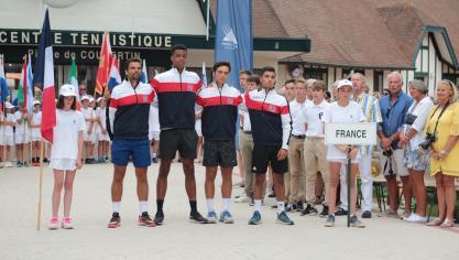 Actualité - Les Echos du TouquetLe Touquet: la France affrontera la Serbie ce mercredi 7 août en finale de la Junior Davis Cup