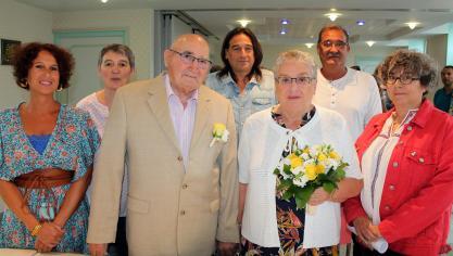 Marconnelle : du diamant pour Yvette et Michel