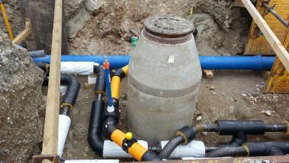 Les travaux de rénovation des réseaux d'alimentation en eau potable débutent ce lundi