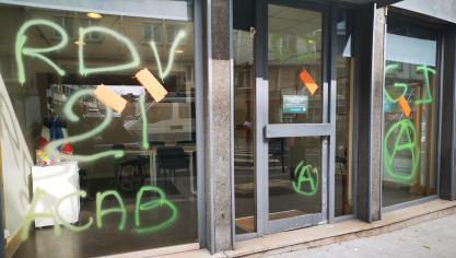 Boulogne-sur-Mer : la permanence du député LREM Jean-Pierre Pont dégradée et taggée