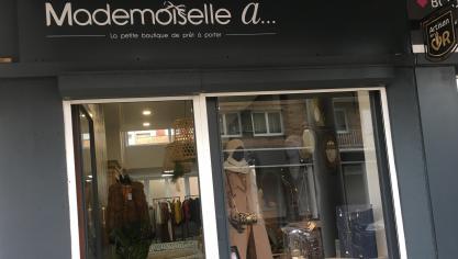 Mademoiselle A a ouvert ses portes en centre-ville