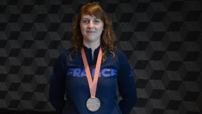 Mathilde Mortier (Wittes), se classe troisième en Russie