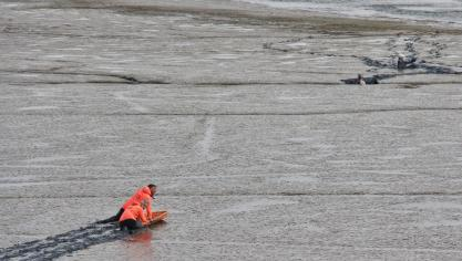 Le Touquet : deux personnes envasées en baie de Canche
