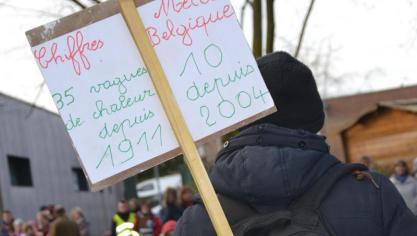 Une marche pour défendre le climat à Merville