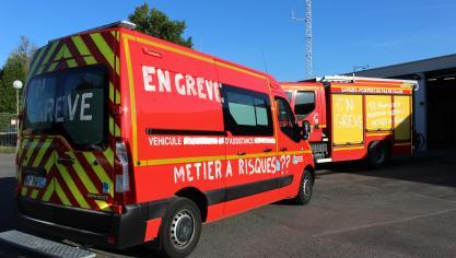 Auchel : les sapeurs-pompiers reconduisent leur grève
