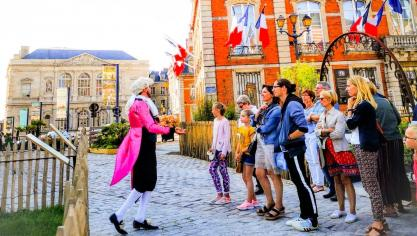 Boulogne-sur-Mer : Une visite atypique de la Haute-Ville pendant les vacances avec Jérôme Guerville