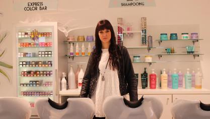 Bruay-la-Buissière : Johanna, coiffeuse en lice au VOG color awards