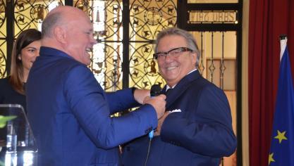 Le Touquet : Franck François, fondateur du groupe VOG, a reçu la Légion d'Honneur