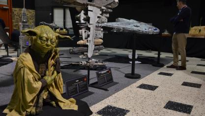 Ch'tar Wars 2.0 séduit des milliers de visiteurs dès la première journée, il en reste deux (photos et vidéo)