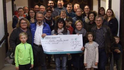 La Caloterie : un chèque de 6 000 euros pour l'association Tite Caille