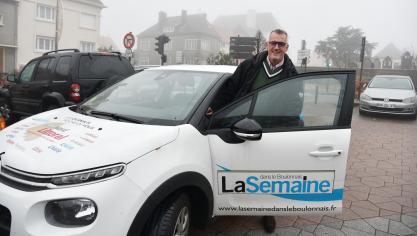 Une heure en voiture avec Raphaël Jules à Saint-Martin-Boulogne